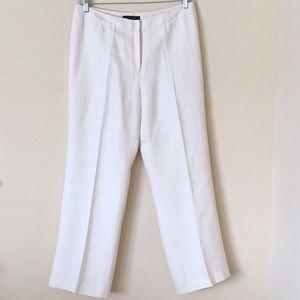 Lafayette 148 New York Linen Trousers Slacks Sz 12
